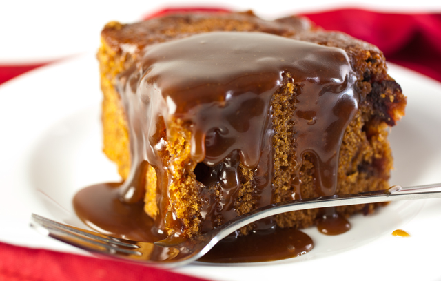 Sticky Toffee Pudding. Copyright: Ocado